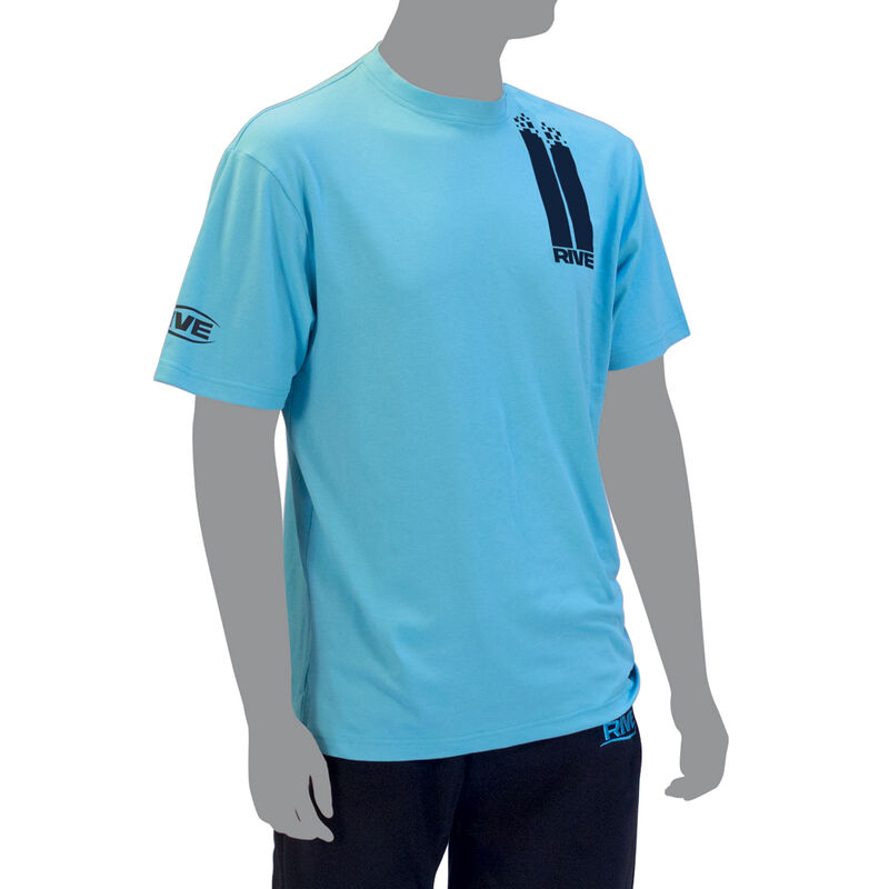 T-shirt rive homme turquoise - Manches Courtes | Pacific Pêche