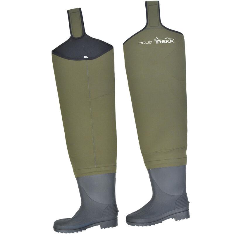 Cuissardes néoprène luxe 4 mm aquatrekk + bottes semelles crantées - Cuissardes | Pacific Pêche