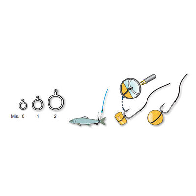 Stop appâts coup stonfo elastiques a esches gm - Accessoires Appâts | Pacific Pêche