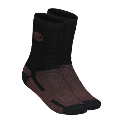 Chaussettes korda kore merino wool sock black - Chaussettes | Pacific Pêche