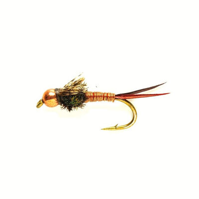 Mouche silverstone nymphe copper john h16 (x3) - Nymphes | Pacific Pêche