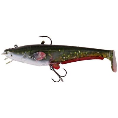 Leurre souple shad dam effzett real life catfish paddle tail 20cm - Shads | Pacific Pêche