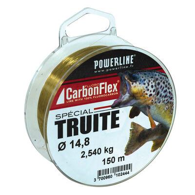 Fluorocarbone carbonflex truite powerline 150x - Fluorocarbones | Pacific Pêche