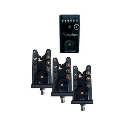 Coffret 3 détecteurs carpe prowess coffret absolum + centrale - Coffrets détecteurs | Pacific Pêche