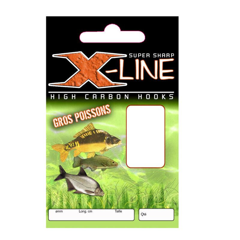Hameçons montés coup x line gros poissons (x10) - Hameçons Montés   Pacific Pêche