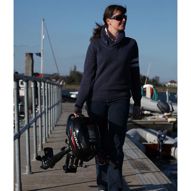 Moteur thermique suzuki hors bord portable df 2.5cv 4t arbre court - Thermiques | Pacific Pêche