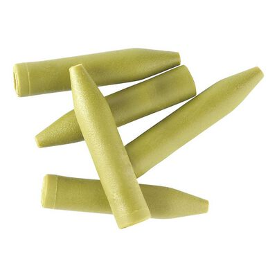 Heli sleeve rok verte - pochette de 10 - Clip plombs et cônes | Pacific Pêche