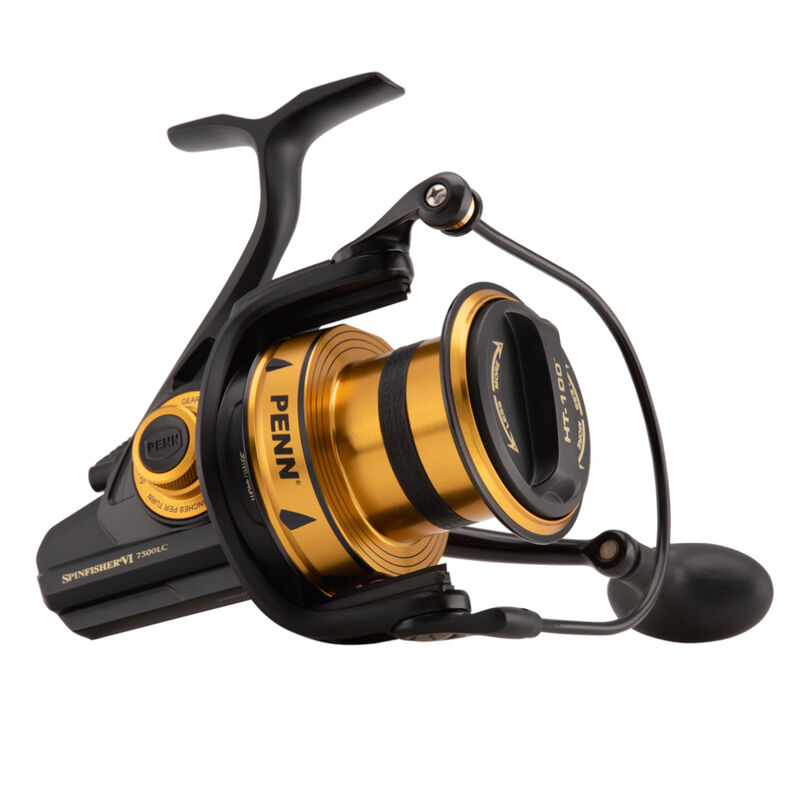 Moulinet surfcasting penn spinfisher vi long cast 7500 - Tambour Fixe | Pacific Pêche