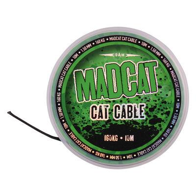Tresse à bas de ligne silure madcat cat cable 1.35mm 160kg 10m - Têtes de ligne / Leaders | Pacific Pêche