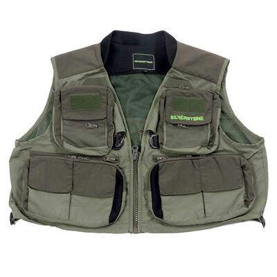 Gilet silverstone hardwater olive - Vestes/Gilets | Pacific Pêche