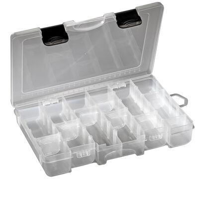 Boîte à leurres carnassier plastilys compartimentée 27x17x4,3cm - Boîtes | Pacific Pêche