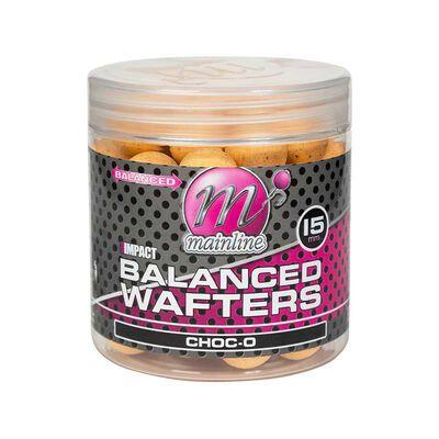 Bouillettes équilibrées carpe mainline high impact balanced wafters choc-o - Equilibrées | Pacific Pêche