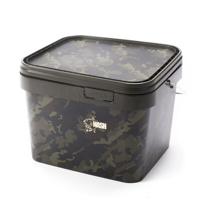 Seau carpe nash rectangular bucket 10l - Seaux | Pacific Pêche