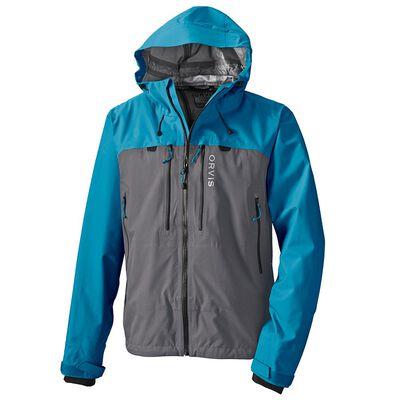 Veste orvis ultralight jacket colorisr gris et bleu - Vestes de pluie / wading | Pacific Pêche