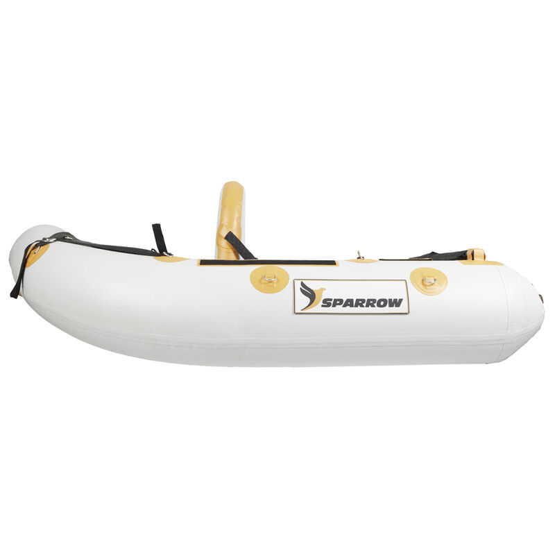 Float tube sparrow attack 160 gris/orange - Floats Tube | Pacific Pêche