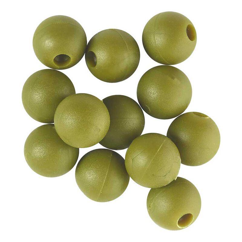 Perles rok chod beads green - pochette de 25 - Perles | Pacific Pêche