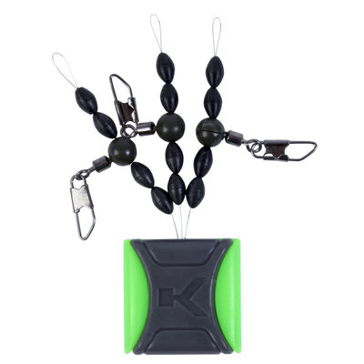 Agrafes pour flotteur coup korum ready float kits (3 piéces) - Emerillons / Agrafes / Perles   Pacific Pêche
