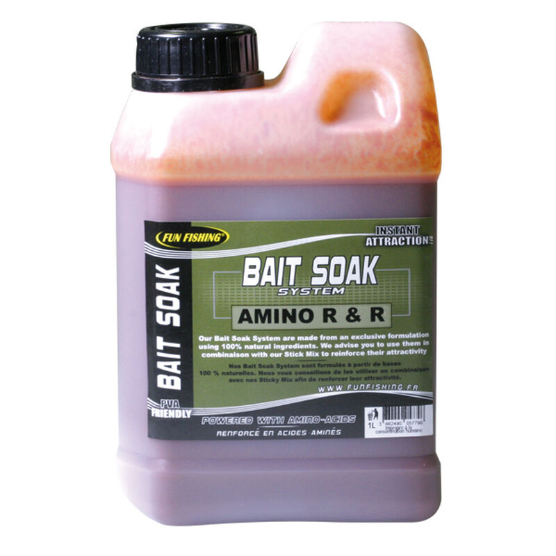 Booster carpe fun fishing bait soak system amino r 1l - Boosters / dips   Pacific Pêche