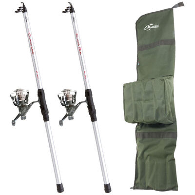 Pack vif carnassier redfish combo telestrong 350 advanced (x2) + fourreau - Packs | Pacific Pêche