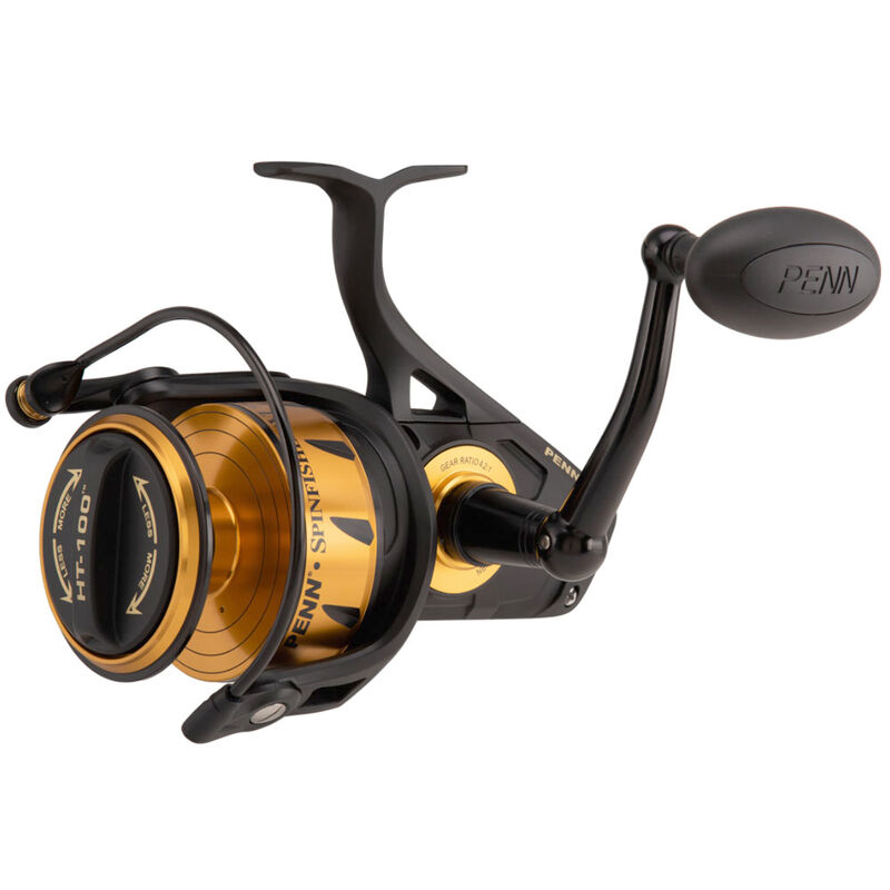 Moulinet penn spinfisher vi spinning 9500 - Tambour Fixe | Pacific Pêche