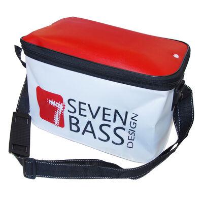 Bakkan soft souple blanc et rouge 20l navigation seven bass - Sacs/Trousses | Pacific Pêche