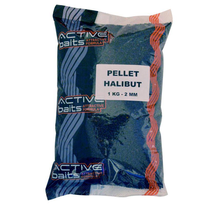 Pellets coup active baits halibut 1kg - Amorçage   Pacific Pêche