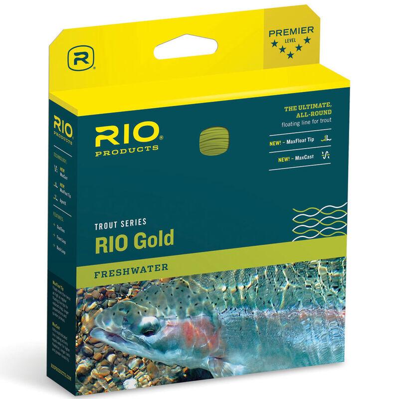 Soie flottante rio gold wf (jaune) - Flottantes   Pacific Pêche