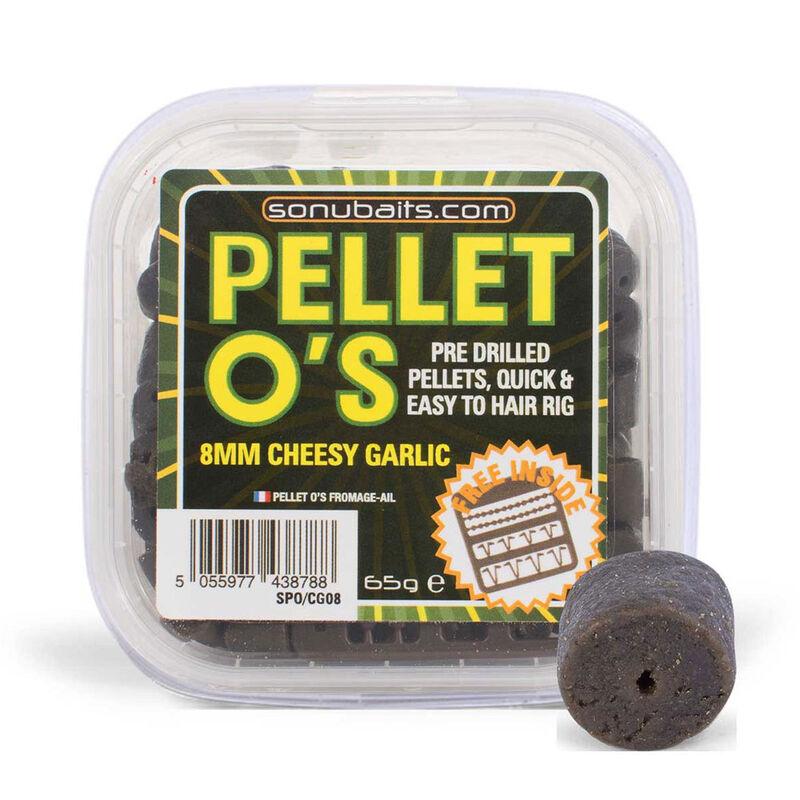 Pellets pour hameçons pré percés sonubaits o's 8mm fromage - Eschage | Pacific Pêche