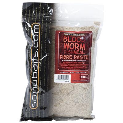Pâte d'eschage coup sonubaits fibre paste bloodworm fishmeal 500g - Appâts artificiels | Pacific Pêche