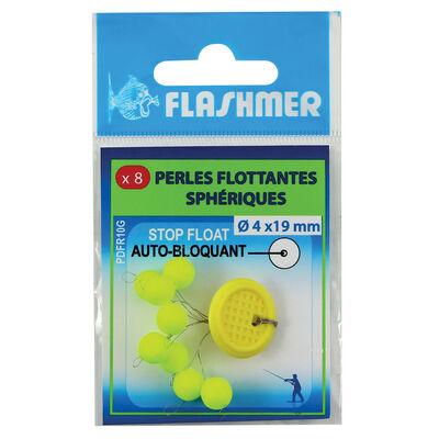 Perles flottantes sphériques flashmer stop float 7,5mm - Perles | Pacific Pêche