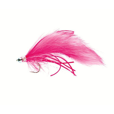 Streamer silverstone zonker creeper rose h8 (x3) - Streamers | Pacific Pêche