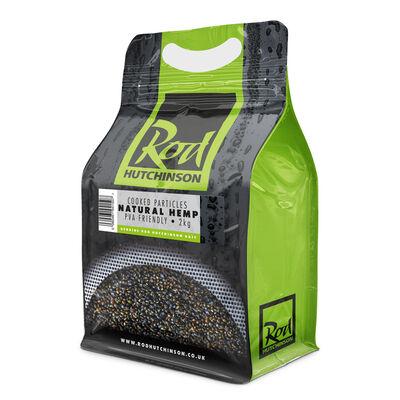 Graines cuites carpe rod hutchinson natural hemp pouch 2kg - Prêtes à l'emploi | Pacific Pêche