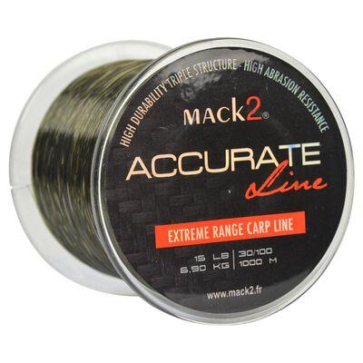 Nylon carpe mack2 accurate line 1000 m - Monofilament | Pacific Pêche