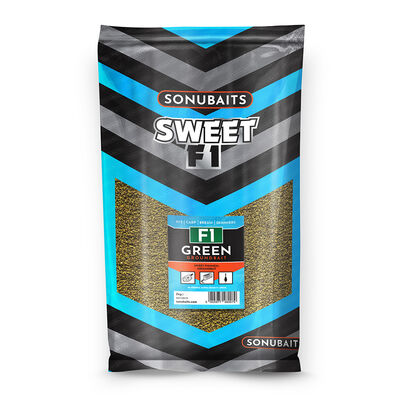 Amorce sweet f1 green sonubaits 2kg - Amorçage | Pacific Pêche