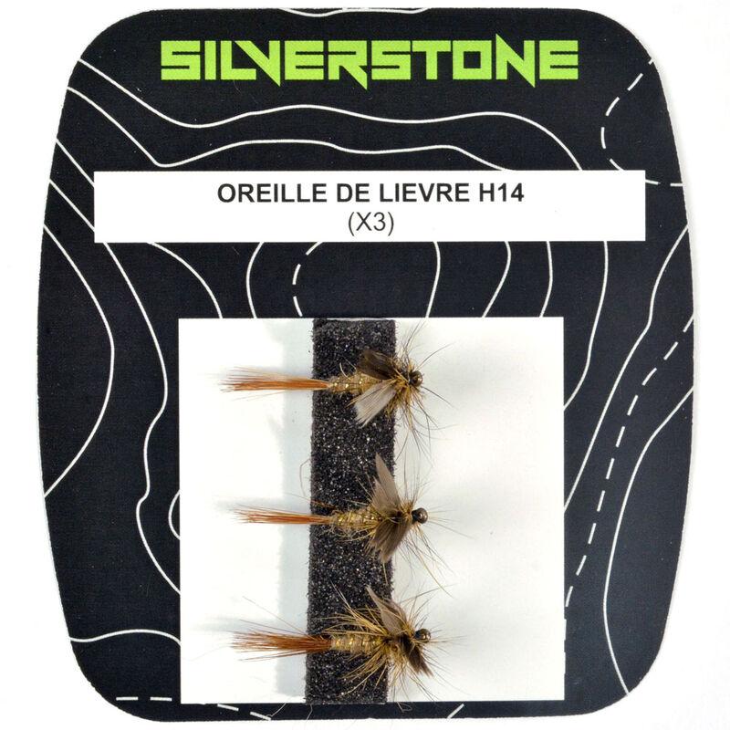 Mouche sèche silverstone oreille de lièvre (x3) - Sèches | Pacific Pêche
