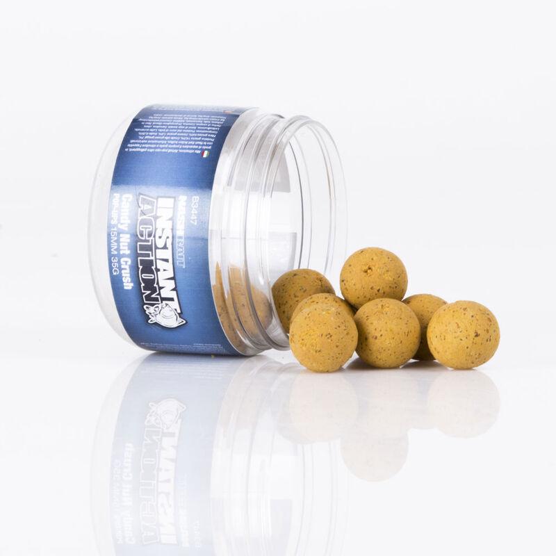 Bouillettes flottantes carpe nashbait instant action pop up candy nut crush - Flottantes | Pacific Pêche