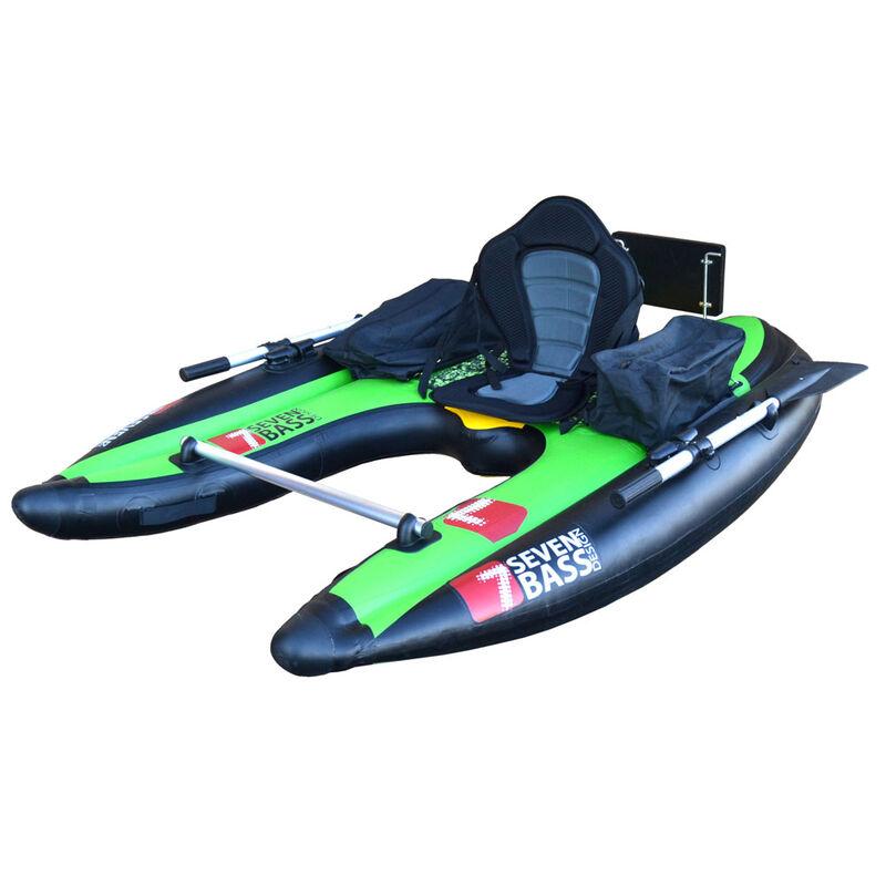 Float tube seven bass flatform jungle green - Floats Tube | Pacific Pêche