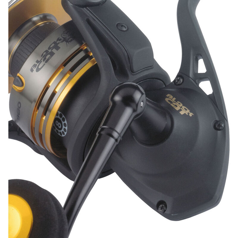 Moulinet spinning silure black cat shadow spin 880 - Spinning   Pacific Pêche