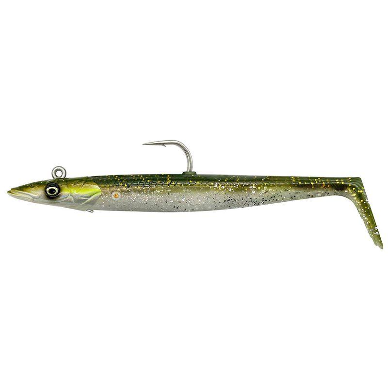 Leurre souple savage gear sandeel v2 15.5cm 46g (2 corps + 1 tête plombée) - Leurres souples | Pacific Pêche