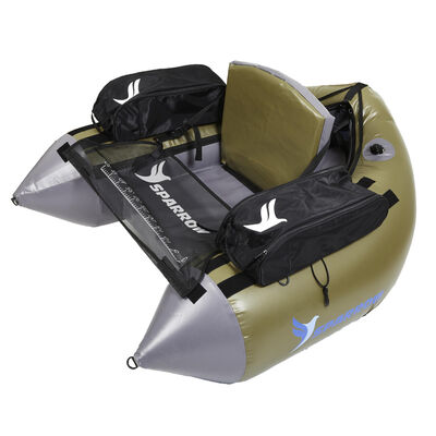 Float tube sparrow commando vert/gris - Floats Tube | Pacific Pêche