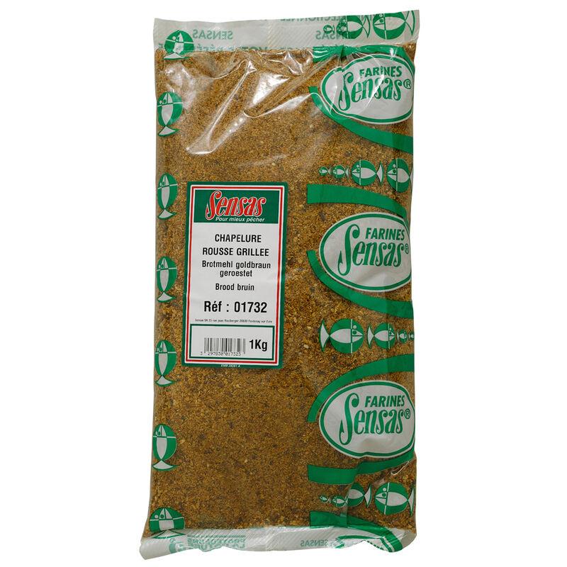 1 kg blanc rouge Poudre de pain sol Appât pour pêche grossiers marron