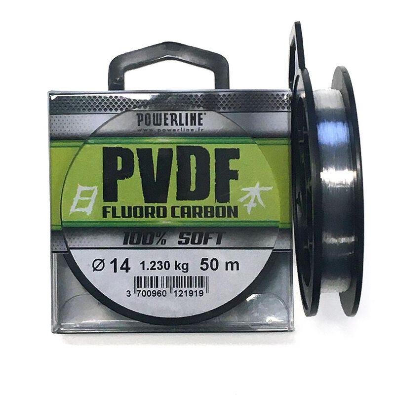 Fluorocarbone powerline 100% soft bobine de 50m - Acc. de montage feeder   Pacific Pêche