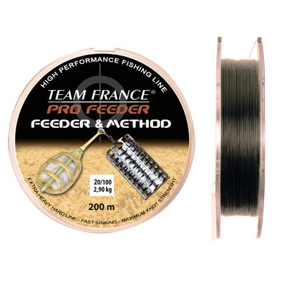 Nylon coup team france feeder method 200m - Monofilaments | Pacific Pêche