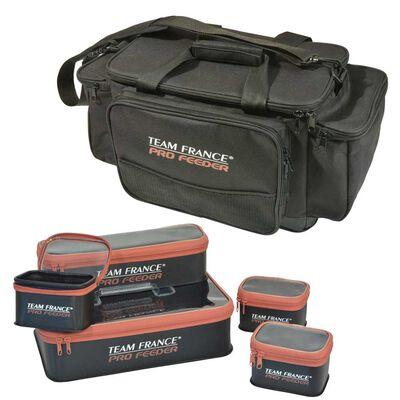 Set bagagerie pro feeder sac de transport isotherme + set 5 trousses - Ensembles feeder | Pacific Pêche