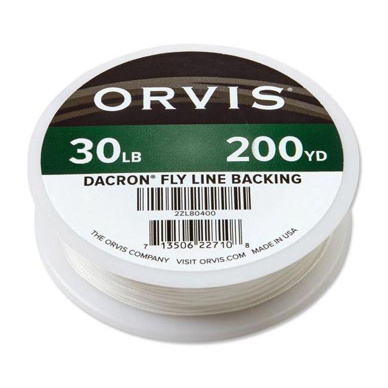 Backing mouche orvis dacron blanc 30 lbs - 180m - Backings | Pacific Pêche