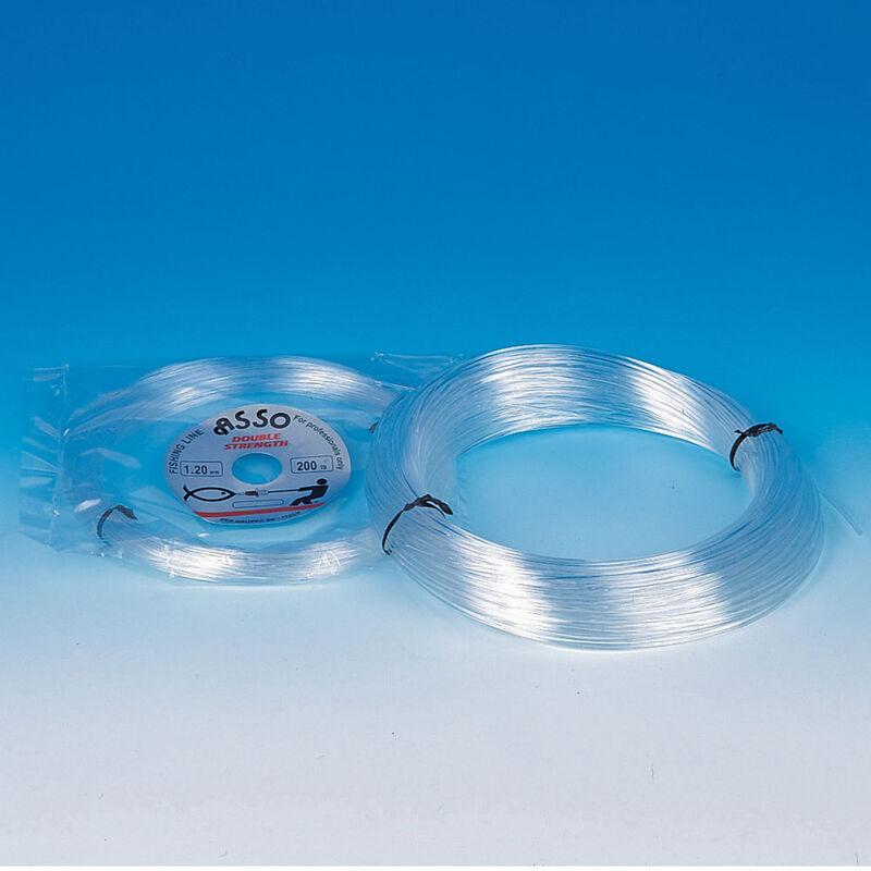 Fil nylon asso double strengh 60m - Nylons | Pacific Pêche