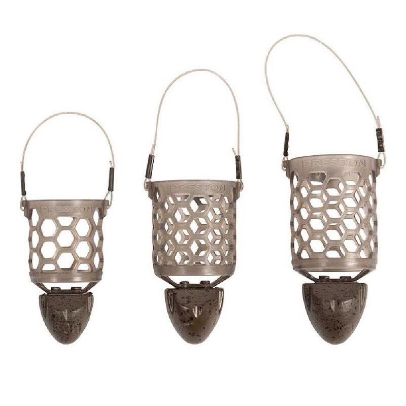Cage feeder preston hexmesh plastic bullet medium - Cages feeder | Pacific Pêche