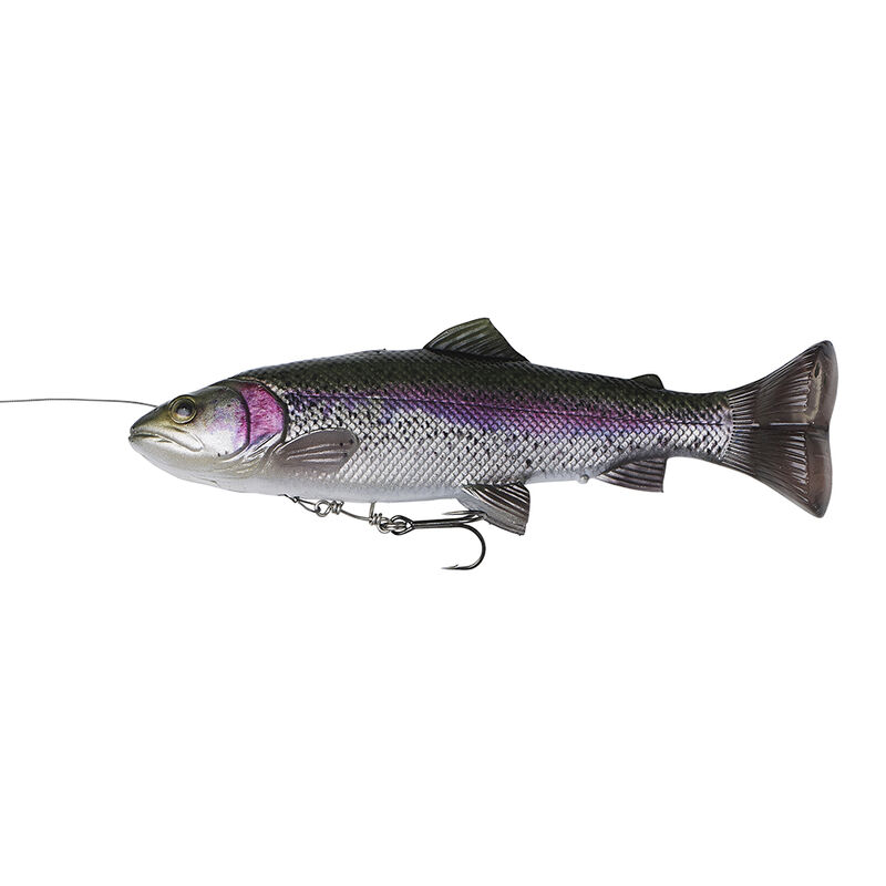 Leurre souple shad carnassier savage gear 4d line thru pulse tail trout ss 16cm 51g - Shads | Pacific Pêche