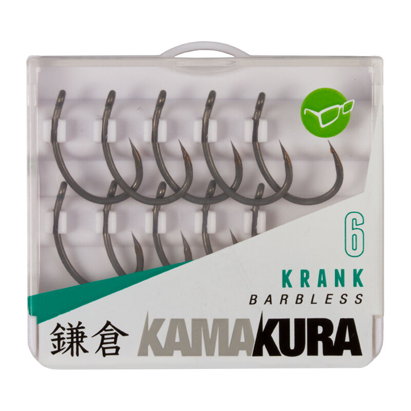 Hameçon carpe korda kamakura krank barbless (x10) - Hameçons   Pacific Pêche