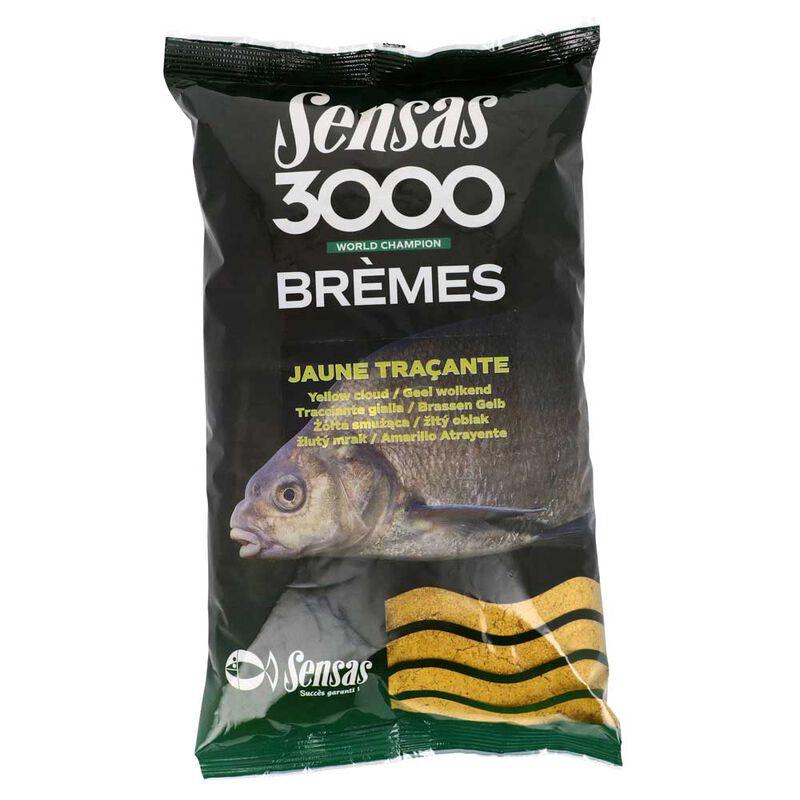 Amorce sensas 3000 bremes jaune tracante 1kg - Amorces | Pacific Pêche